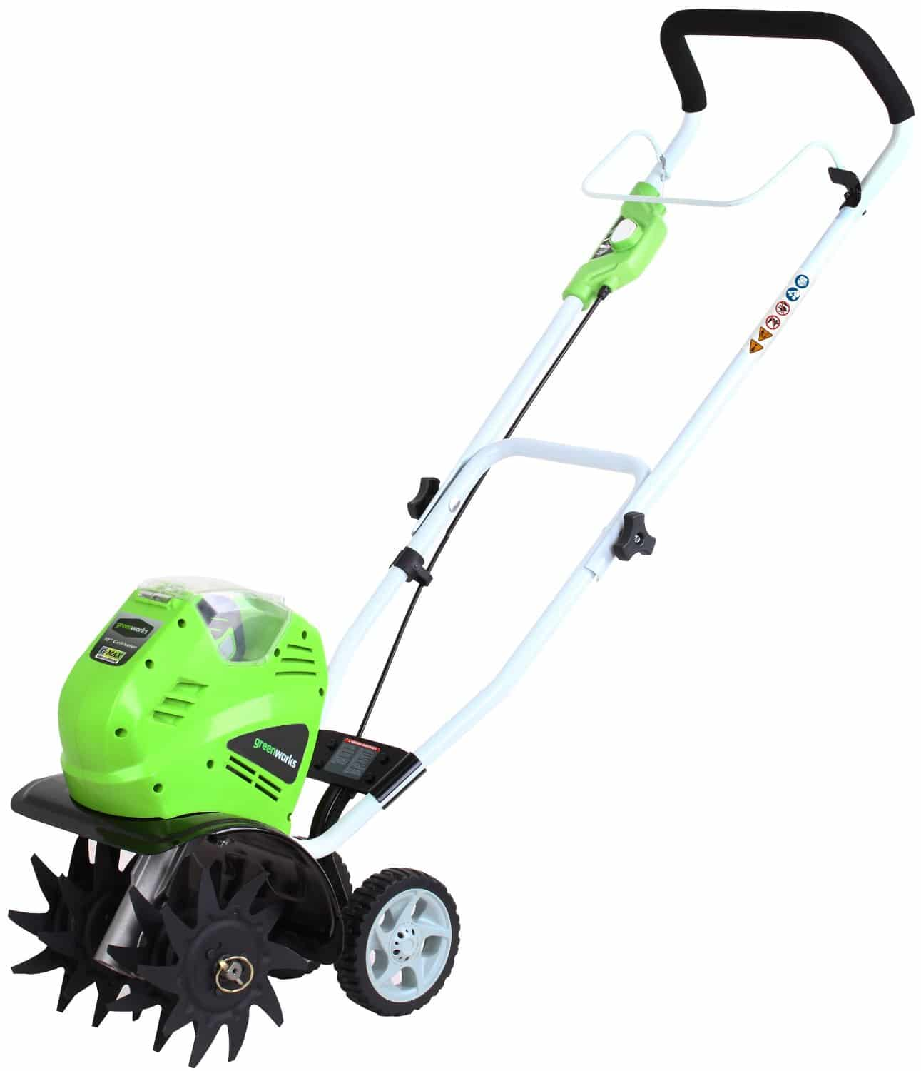 greenworks rototiller reviews